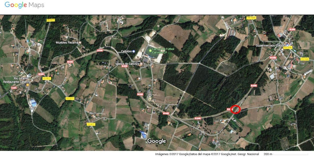 Parcela Estrada A Inmobiliaria Construcci Ns Bamarti S L A Estrada # Muebles Fecama Sl